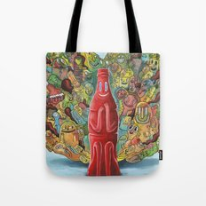 I'd Like to Buy the World a Smile Tote Bag