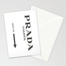 Grey Marfa  Stationery Cards