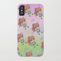 sailor jupiter iPhone & iPod Cases featuring Sailor Jupiter Pattern by Neo Crystal Tokyo
