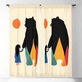 Go Home Blackout Curtain