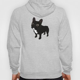 Brindle Frenchie likes to go for a walk to meet some friends Hoody