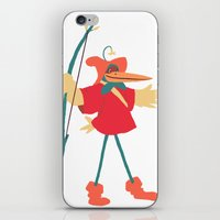 robin hood iPhone & iPod Skins featuring The many disguises of Robin Hood by Bruno Gabrielli