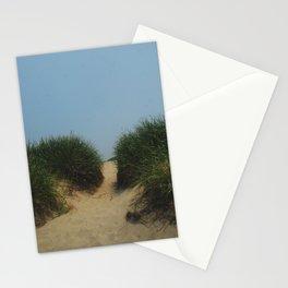 coastal sand dune Stationery Cards