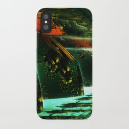 Cannon Battery (Pixel Explosion) iPhone Case