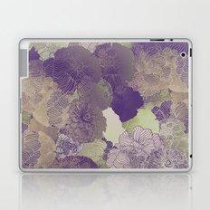 Aubergine Floral Hues Laptop & iPad Skin