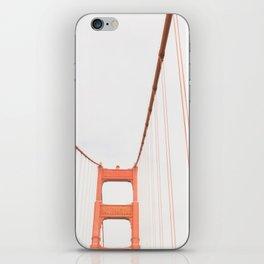 On the Golden Gate Bridge iPhone Skin