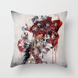 Queen of Skull II Throw Pillow