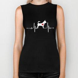 Dog heartbeat, Chihuahua heartbeat Biker Tank