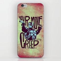 Your move, creep. // ROBOCOP iPhone & iPod Skin