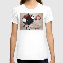 dark evil christmas bug T-shirt
