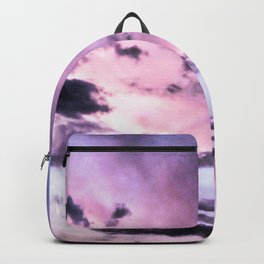 fly up to the blue pink sky Backpack