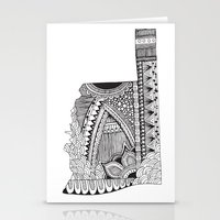 oklahoma Stationery Cards featuring Oklahoma by Line Upon Line Designs