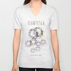 Team Tesla Unisex V-Neck