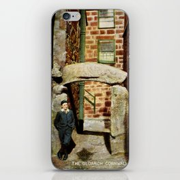 1900 St. Ives Cornwall, The Old Arch, local boy iPhone Skin