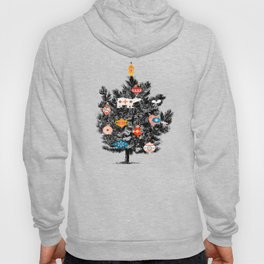 Retro Christmas tree no3 Hoody