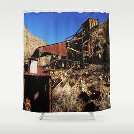 Ballarat Ghost Town Shower Curtain