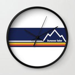 Saranac Lake, New York Wall Clock