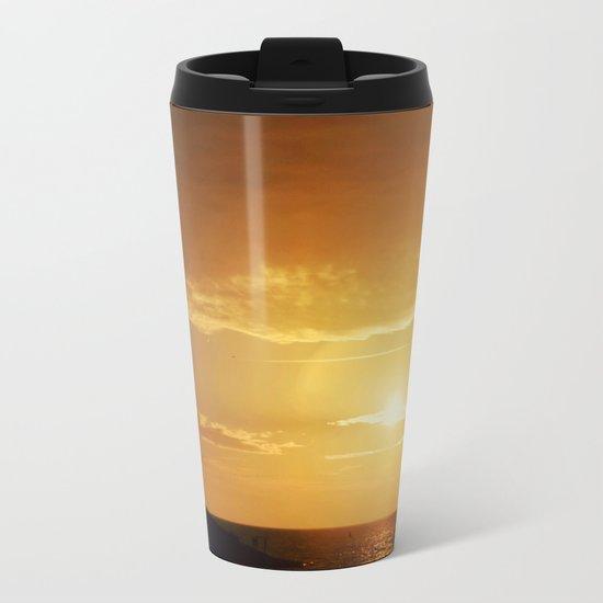 City Sunlight #2 Metal Travel Mug