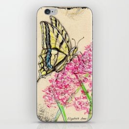 Collette's butterfly iPhone Skin