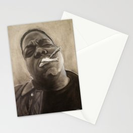 Biggie in Charcoal Stationery Cards