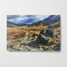 Glyderau Mountains Metal Print