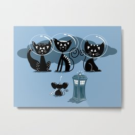 Doctor WHOops, wrong planet! Metal Print