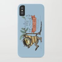 wild things iPhone & iPod Cases featuring Wild Things by Sofia Verger