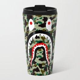 BAPE SHARK ON GREEN Travel Mug