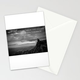 Sacrifice For A Better Tomorrow Stationery Cards
