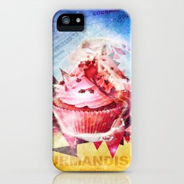 Cupcake Gourmand iPhone Case