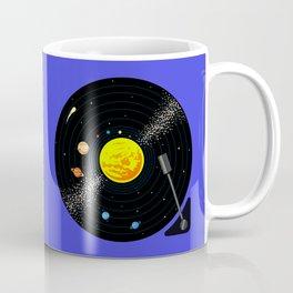 Solar System Vinyl Record Coffee Mug