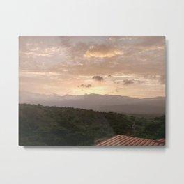 Guatemalan Sunrise Metal Print