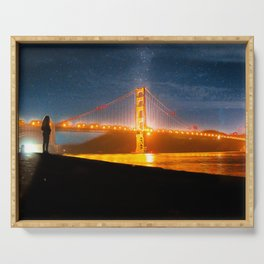 Golden Gate Dreams Serving Tray