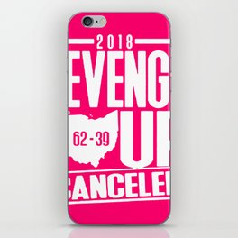 2018 revenge tour cancelled shirt iPhone Skin