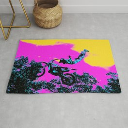 Letting Go - Freestyle Motocross Stunt Rug