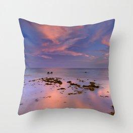 """Bolonia beach III"" Throw Pillow"