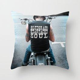 Bluegrass Heartache Soul Throw Pillow