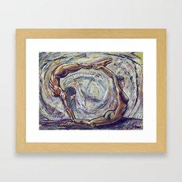 Enso Framed Art Print