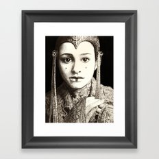 Weight of the Crown Framed Art Print