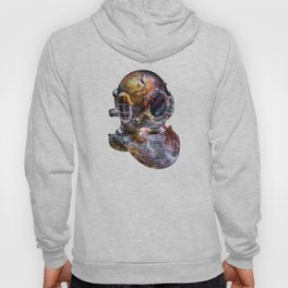 Pop Art Steampunk Diver's Helmet Hoody