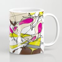 bugs Mugs featuring bugs by Beatriz Lamanna