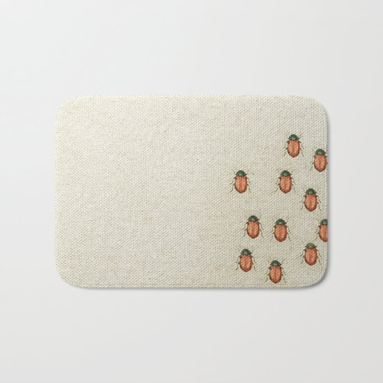 "Coletivo ""Besouros"" Bath Mat"