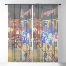 Bourbon Street Sheer Curtain