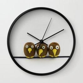 Kiwis birds Wall Clock