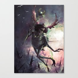 God of Travel Canvas Print