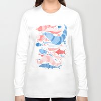 under the sea Long Sleeve T-shirts featuring Under the sea by Matt Saunders