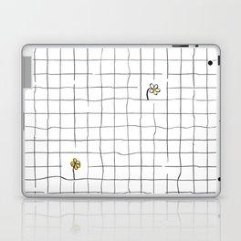 yellow flower pattern Laptop & iPad Skin