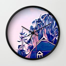 Wilder Branch Wall Clock