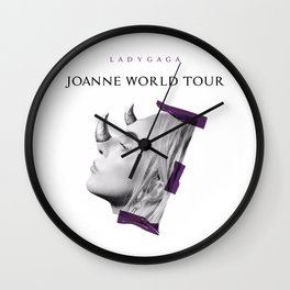 Joanne World Tour - Horn. Wall Clock