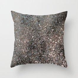 Silver Glitter #1 #decor #art #society6 Throw Pillow